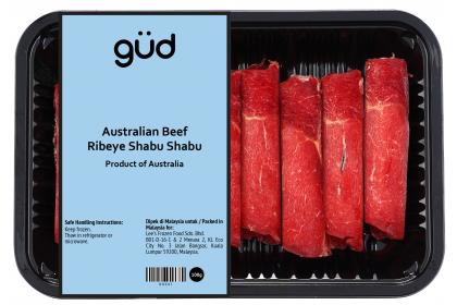 Australian Beef Ribeye Shabu Shabu 100g (Frozen)