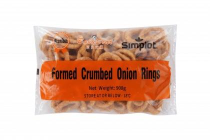 Battered Formed Onion Rings 908g