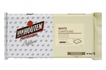 Van Houten Professional White Compound Block 5601 1kg
